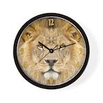 African Lion Wall Clock