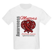 Heart Disease Mosaic T-Shirt