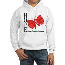 Heart Disease HopeButterfly Hoodie