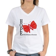 Heart Disease HopeButterfly Shirt