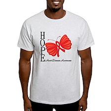 Heart Disease HopeButterfly T-Shirt