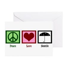 Peace Love Seattle Greeting Cards (Pk of 20)