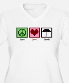 Peace Love Seattle T-Shirt