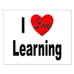 I Love Learning Small Poster