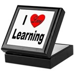 I Love Learning Keepsake Box