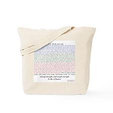Tough Pastor Tote Bag
