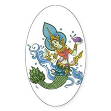 Hindu Mermaid Decal
