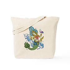 Hindu Mermaid Tote Bag
