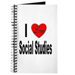 I Love Social Studies Journal