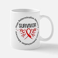 Heart Disease Survivor Mug