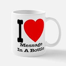 I (Heart) Message In A Bottle Mug