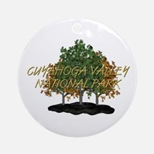 ABH Cuyahoga Valley Round Ornament
