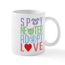 Spay Neuter Adopt Love 2 Mug