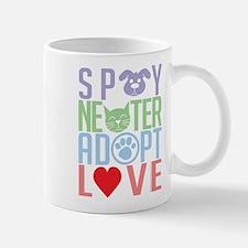 Spay Neuter Adopt Love 2 Small Small Mug