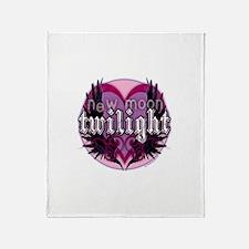 Twilight New Moon Winged Hear Throw Blanket