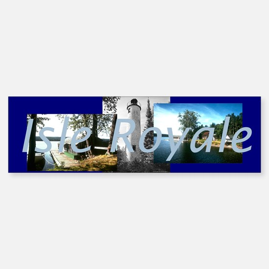 ABH Isle Royale Sticker (Bumper)