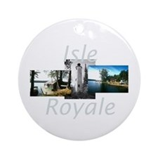 ABH Isle Royale Ornament (Round)