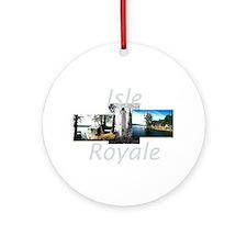 ABH Isle Royale Round Ornament