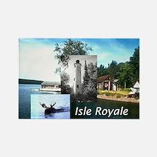 ABH Isle Royale Rectangle Magnet