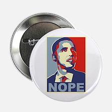 "NOPE - Obama 2.25"" Button"