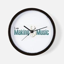 Making Violin Music Wall Clock