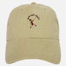 Pole Vault - Red (Light) Baseball Baseball Cap