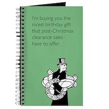 Post Christmas B-Day Gift Journal