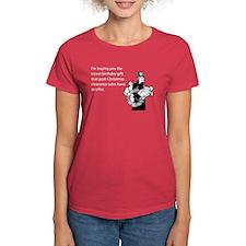 Post Christmas B-Day Gift Women's Dark T-Shirt