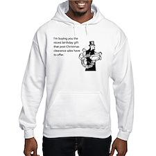 Post Christmas B-Day Gift Hooded Sweatshirt