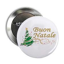 """Buon natale 2.25"""" Button"""