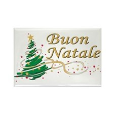 Buon natale Rectangle Magnet