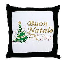 Buon natale Throw Pillow