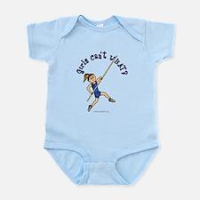 Pole Vault - Blue (Light) Infant Bodysuit