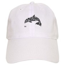 Tribal Dolphin Baseball Cap