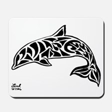Tribal Dolphin Mousepad