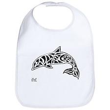 Tribal Dolphin Bib