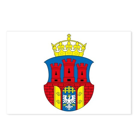 Krakow Coat of Arms Postcards (Package of 8)