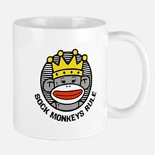 Sock Monkeys Rule Mug