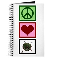 Peace Love Bugs Journal