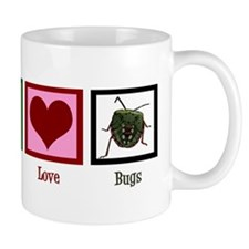 Peace Love Bugs Mug