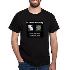 Admiral/Shaz Halo Black T-Shirt