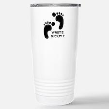 What's Kickin'? Stainless Steel Travel Mug