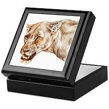 Lioness Keepsake Box