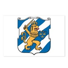 Gothenburg Coat of Arms Postcards (Package of 8)