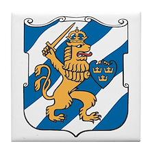 Gothenburg Coat of Arms Tile Coaster
