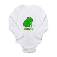 Frog Long Sleeve Infant Bodysuit
