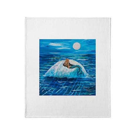 Mermaid Floating Throw Blanket
