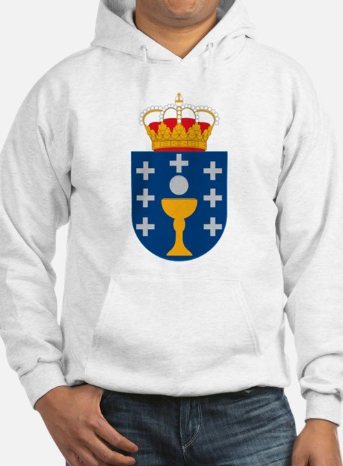 Galicia Coat of Arms Hoodie