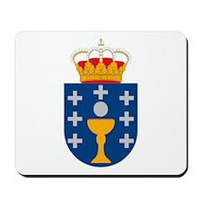 Galicia Coat of Arms Mousepad