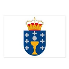 Galicia Coat of Arms Postcards (Package of 8)